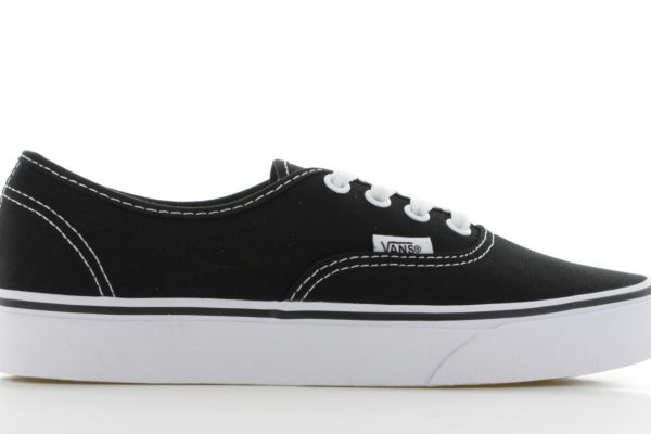 Vans Authentic Zwart/Wit Dames