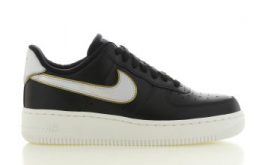 Nike Air Force 1 '07 Metallic Zwart Dames