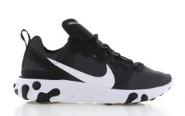 Nike Nike React Element 55 zwart Dames