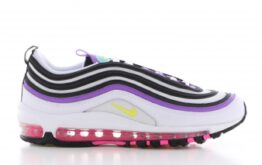 Nike Air Max 97 Wit/Paars Dames