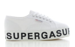 Superga Platform Wit Dames