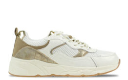 Shoecolate Coco Wit/Goud Dames